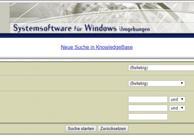 ProSoft Knowledge Base v1 - Startseite