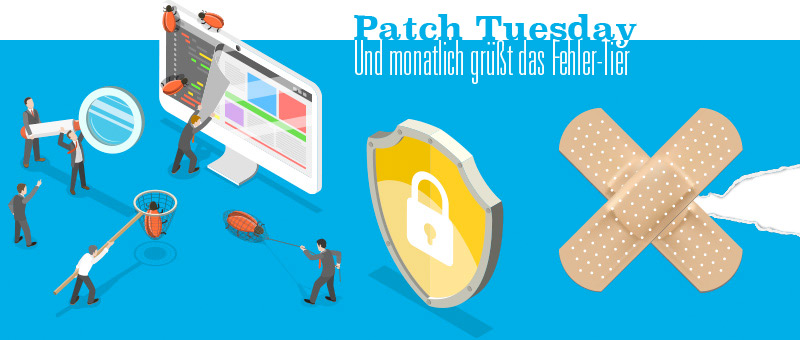Patch Tuesday im Januar 2019