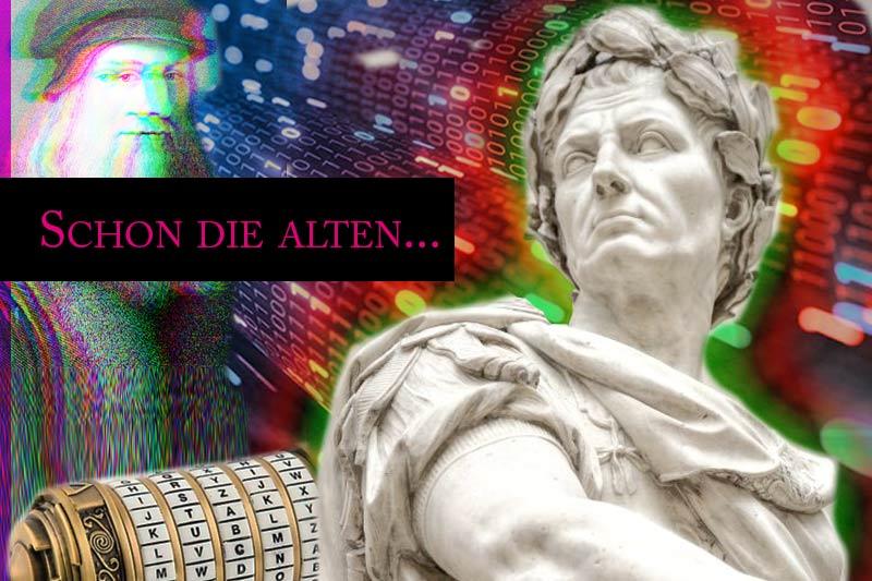 Von der Caesar-Verschlüsselung zu RSA 4096