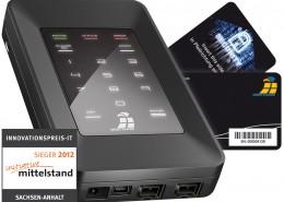 Innovationspreis 2012 für Digittrade HS256S Initiative Mittelstand