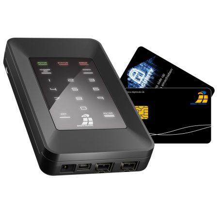 Digittrade HS256S mit Smartcards