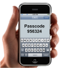 Securaccess otp als SMS Passcode