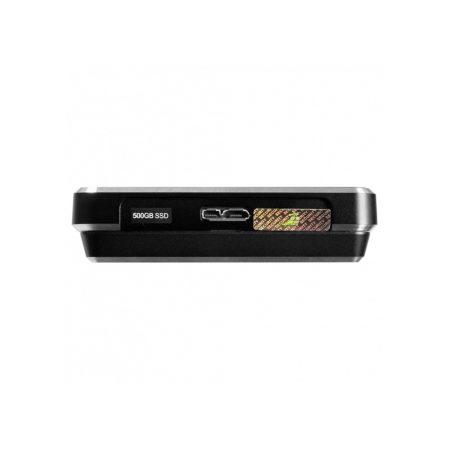 DIGITTRADE HS256 S3 - High Security externe Festplatte USB 3.0 Seitenansicht