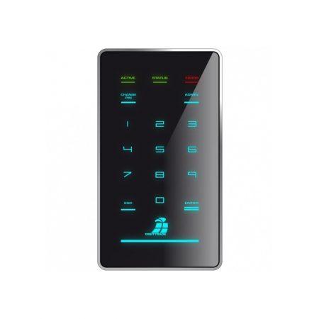 DIGITTRADE HS256 S3 - Frontansicht mit Tastatur