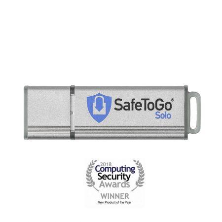 SafeToGo Solo | Computing Securitiy Awards Gewinner 2018