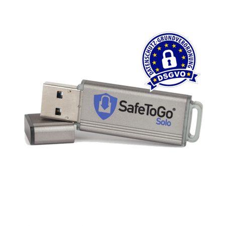 SafeToGo Solo - DSVGO konformer USB-Stick
