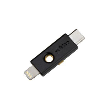 neuster Sicherheitstoken YubiKey 5Ci für Apple, Windows, Linux und Android Geräte