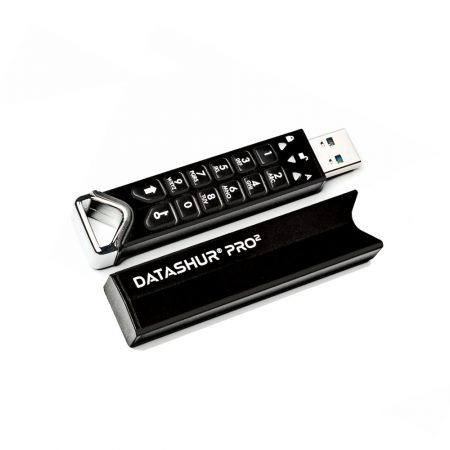 iStorage datAshur Pro2 SuperSpeed USB 3.2 USB-Stick integrierte PIN Tastatur