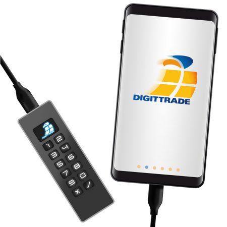 Digittrade KOBRA USB-C Stick am Handy