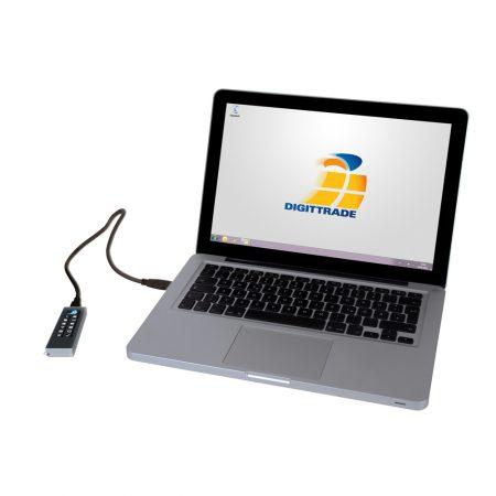 Digittrade KOBRA USB-C Stick am Laptop