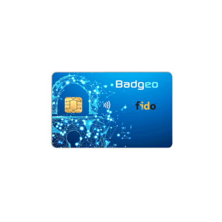 Badgeo FIDO2 Smart Card